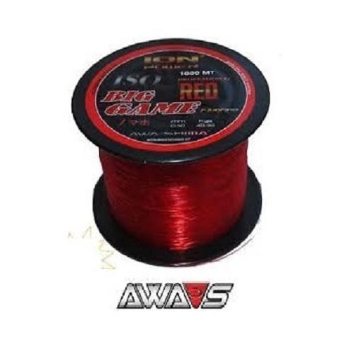 AWA SHIMA ION POWER ISO BIG GAME RED 1000 M 035 MM EL CARPODROMO