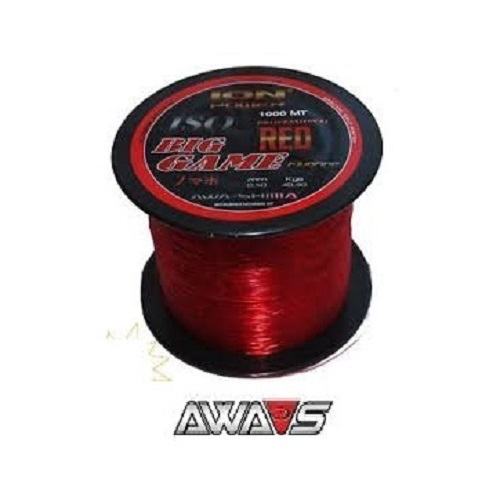 AWA SHIMA ION POWER ISO BIG GAME RED 1000 M 040 MM EL CARPODROMO