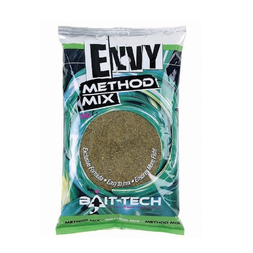 BAIT TECH ENVY METHOD MIX HEMP HALIBUT 2 KG EL CARPODROMO
