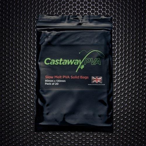 CASTAWAY PVA SLOW MELD SOLID BAGS 20 UNIDADES EL CARPODROMO