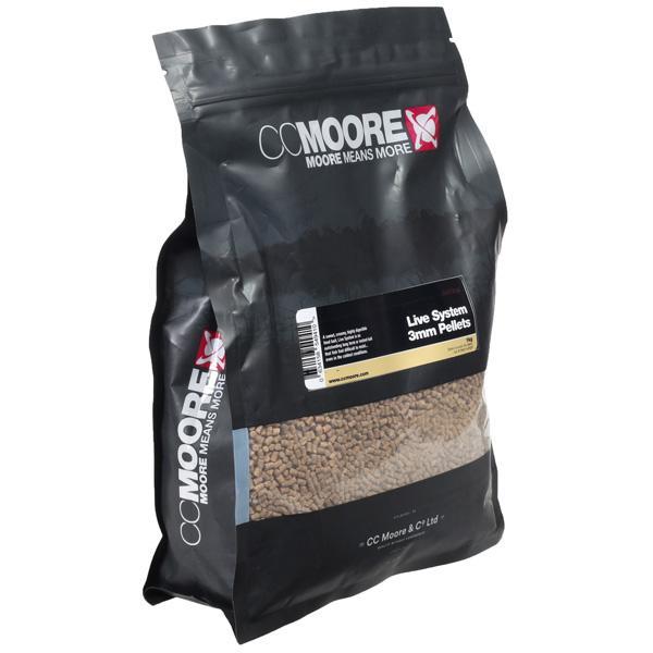CC Moore Live System pellets 1kg ELCARPODROMO