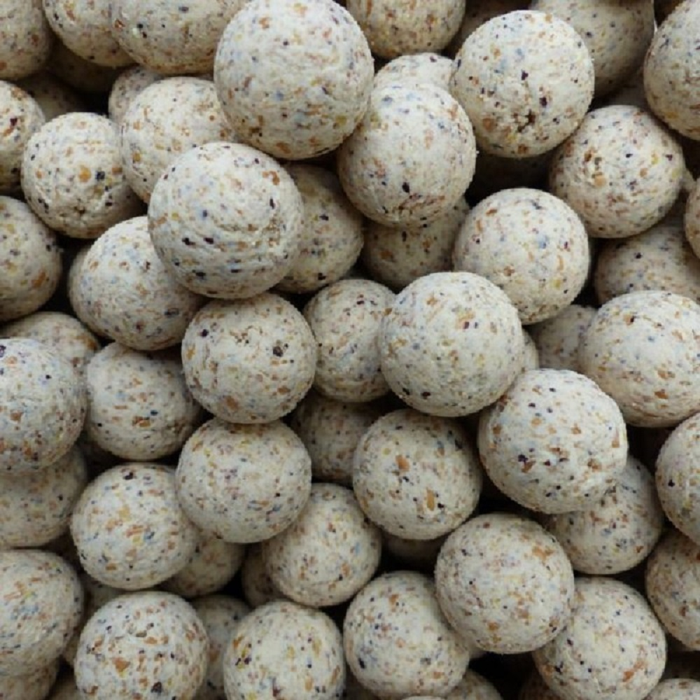 CG BAITS BOILIES WHITE PEACH 18 MM 1 KG EL CARPODROMO