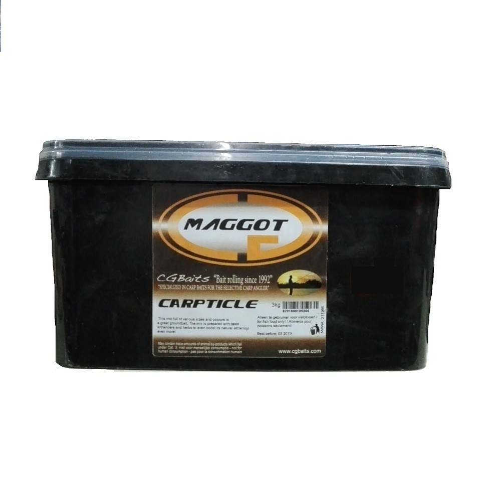 CG BAITS CARPTICLE MAGGOT 3 L EL CARPODROMO