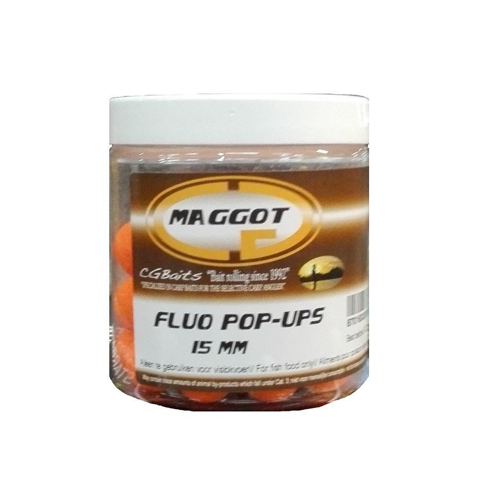 CG BAITS POP UPS MAGGOT 70 G 15 MM EL CARPODROMO