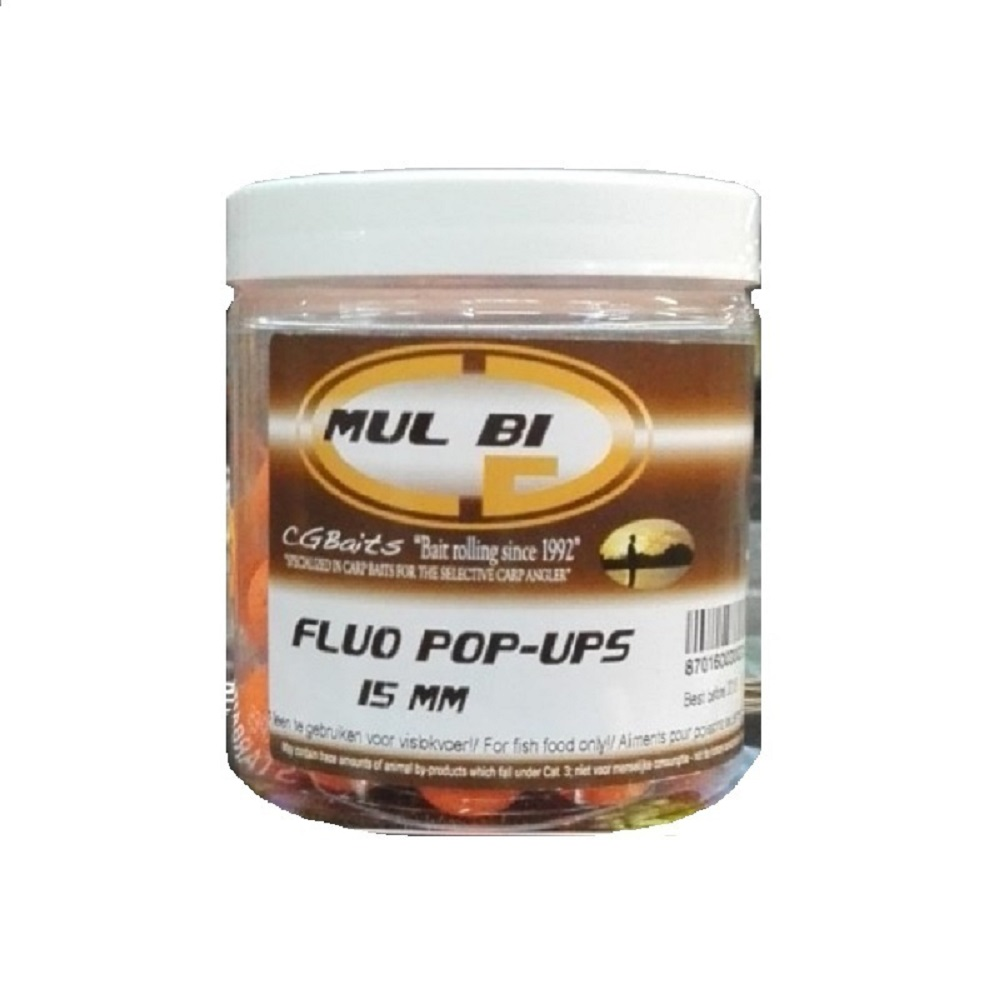 CG BAITS POP UPS MUL BI 70 G 15 MM EL CARPODROMO