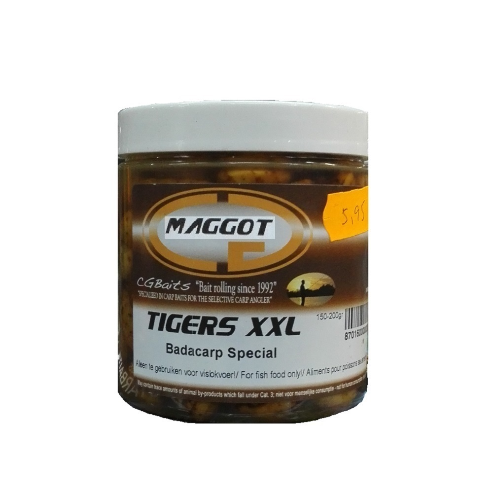 CG BAITS TIGERS XXL MAGGOT EL CARPODROMO