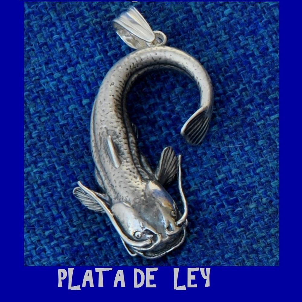 COLGANTE SILURO PLATA DE LEY EL CARPODROMO
