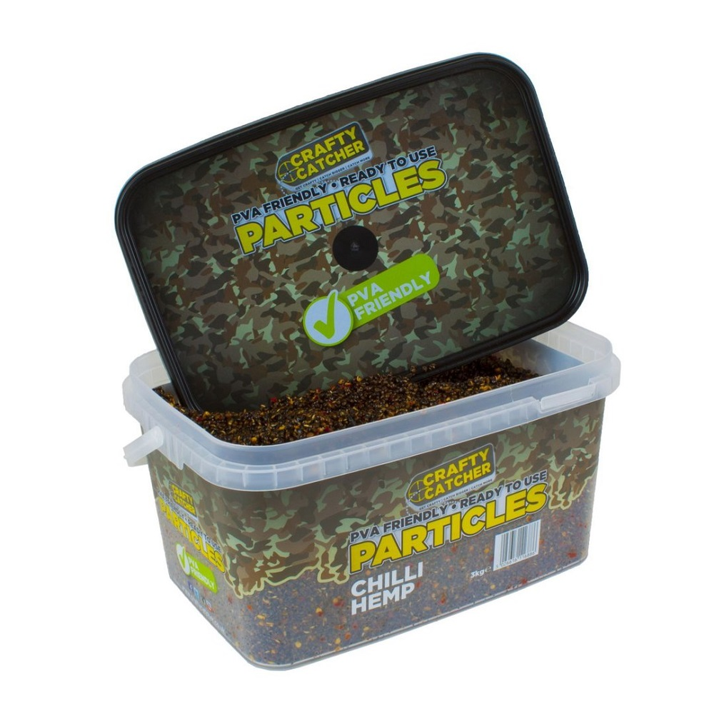 CRAFTY CATCHER PARTICLES CHILLI HEMP 3 KG EL CARPODROMO