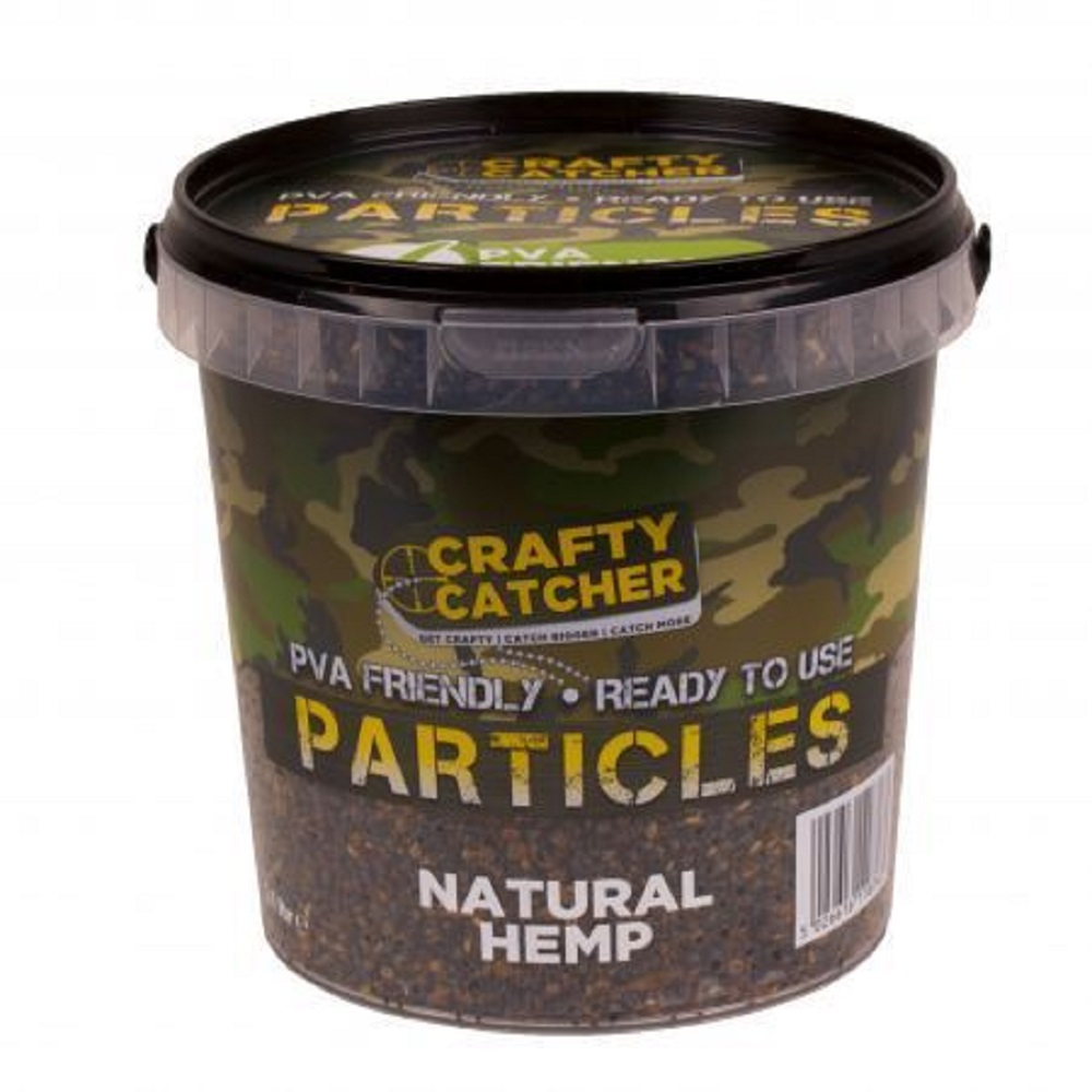 CRAFTY CATCHER PARTICLES NATURAL HEMP 1.1 L EL CARPODROMO