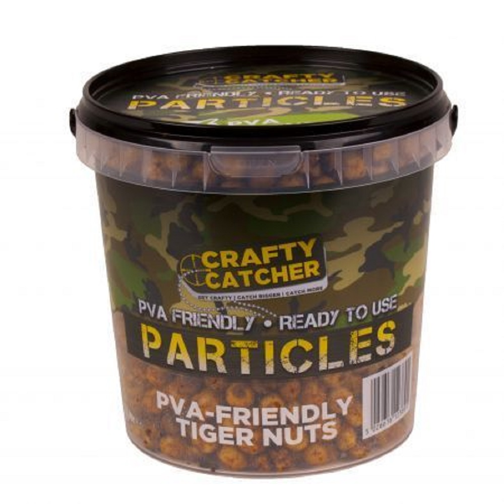 CRAFTY CATCHER PARTICLES PVA FRIENDLY TIGER NUT 1.1 L EL CARPODROMO