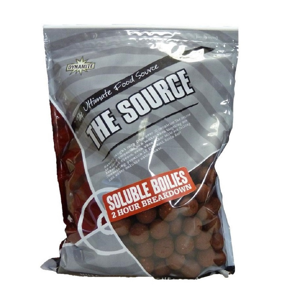DYNAMITE BAITS BOILES SOLUBLES THE SOURCE 20 MM 1 KG EL CARPODROMO