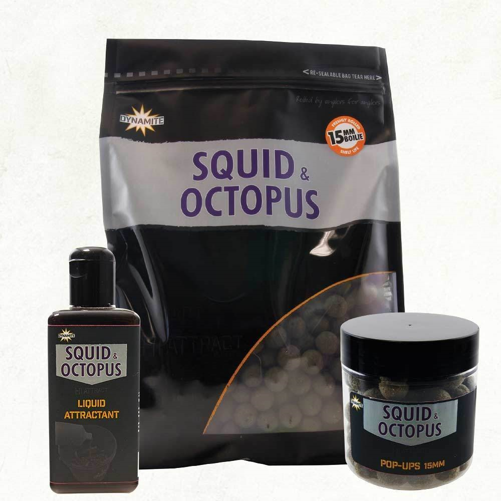 DYNAMITE BAITS BOILIES SQUID OCTOPUS 20 MM 1KG EL CARPODROMO