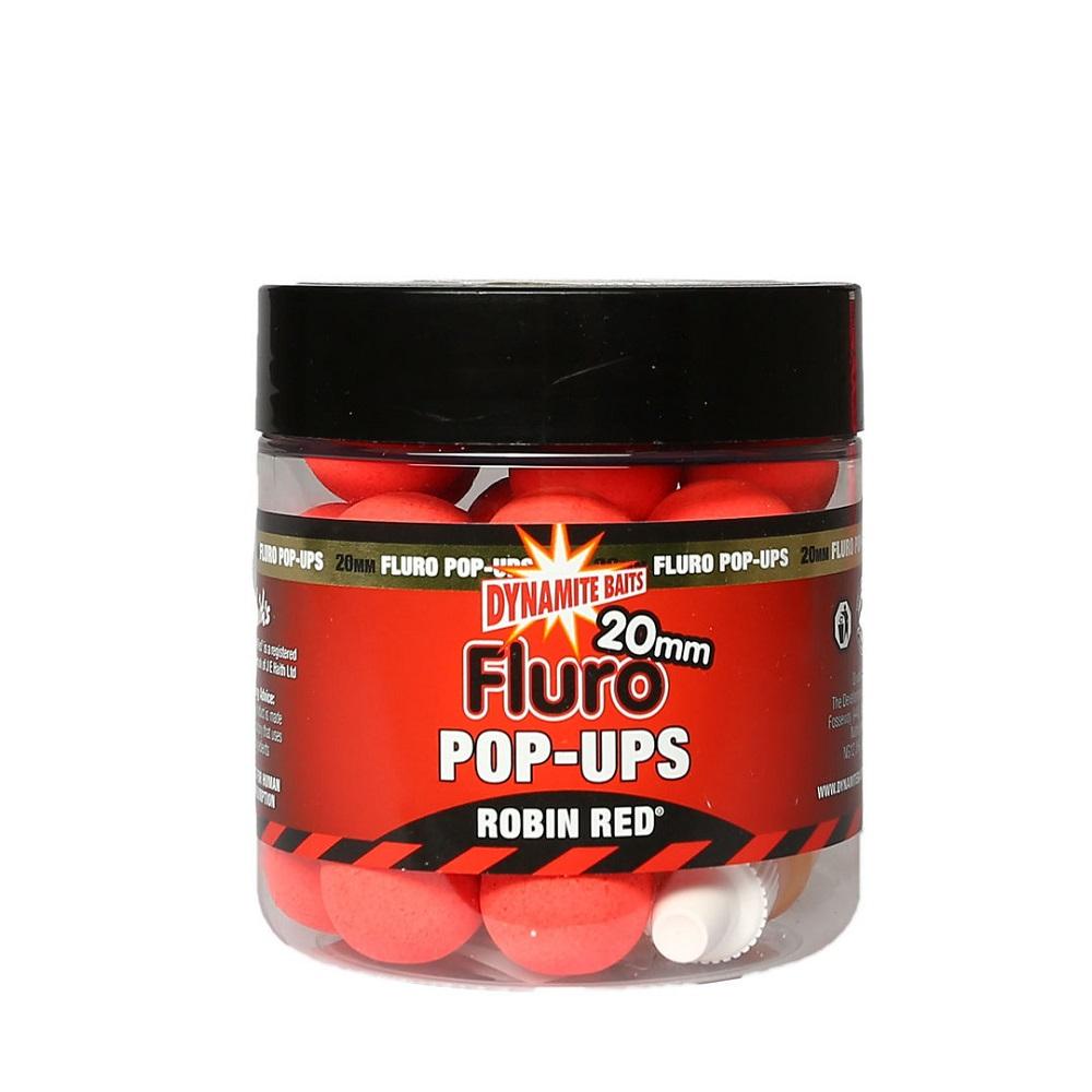 DYNAMITE BAITS POP UPS FLURO ROBIN RED 20 MM EL CARPODROMO