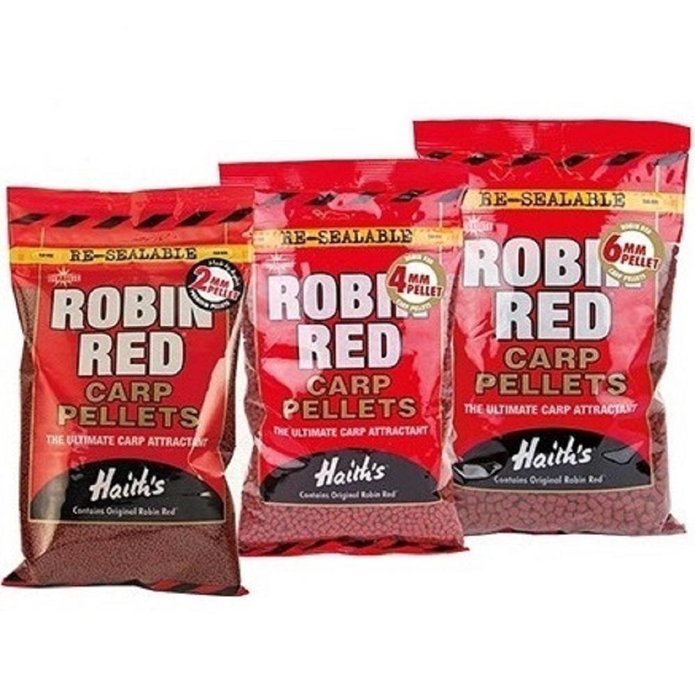 DYNAMITE BAITS ROBIN RED CARP PELLETS 2 MM 1KG EL CARPODROMO