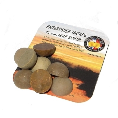 ENTERPRISE TACKLE HALF BOILIES 15 MM EL CARPODROMO