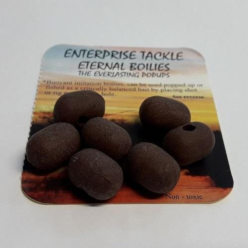 ENTERPRISE TACKLE POP UPS ETERNAL DUMBELLS BROWN EL CARPODROMO