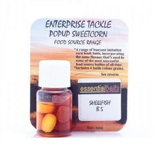 ENTERPRISE TACKLE POPUPS SWEETCORN SHELLFISH B S EL CARPODROMO