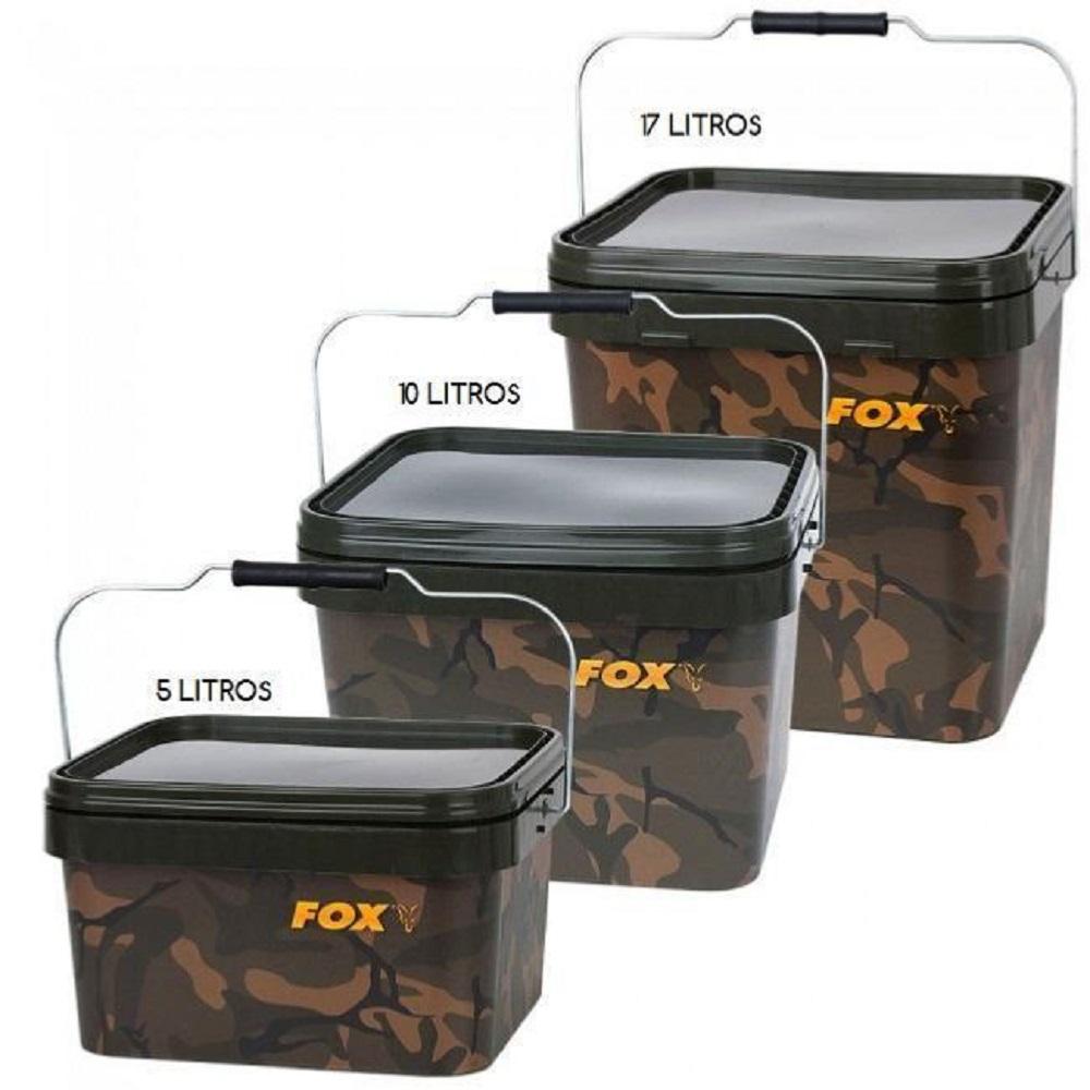 FOX CUBO CAMO SQUARE BUCKET 5 L CBT005 EL CARPODROMO