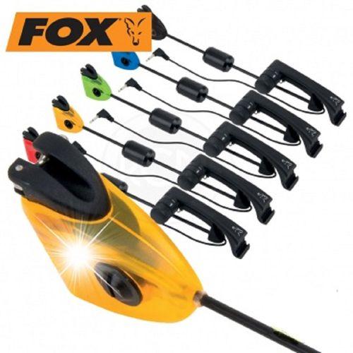FOX MK2 ILLUMINATED SWINGER ORANGE INDICADOR
