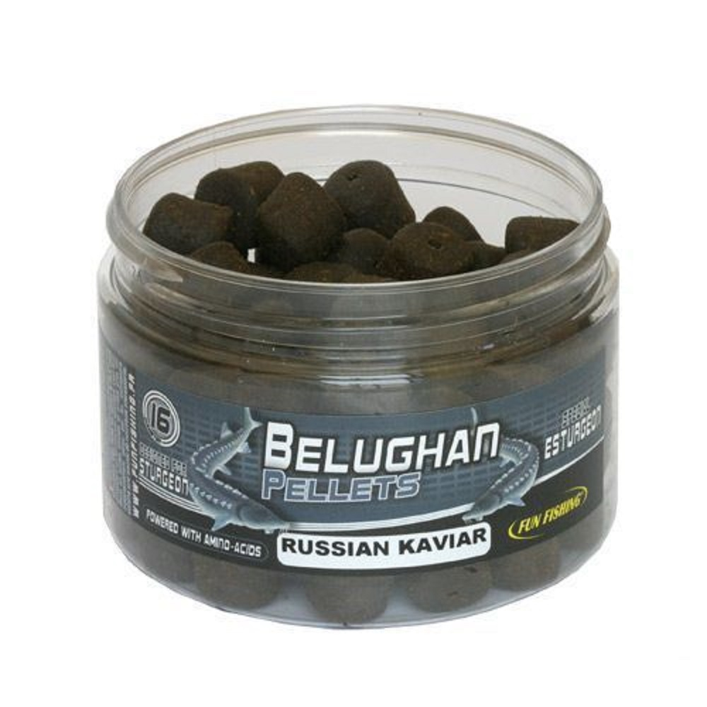 FUN FISHING BELUGHAN PELLETS RUSSIAN CAVIAR EL CARPODROMO