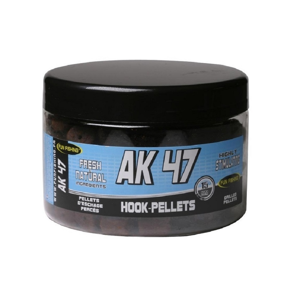 FUN FISHING HOOKPELLETS AK47 EL CARPODROMO