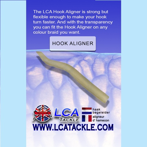 LCA TACKLE HOOK ALIGNER 15 UNIDADES EL CARPODROMO