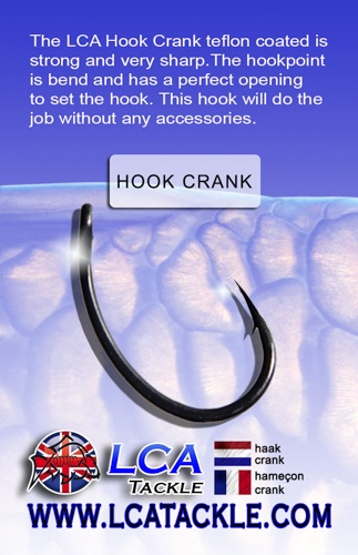 LCA TACKLE HOOK CRANK Nº 4 EL CARPODROMO