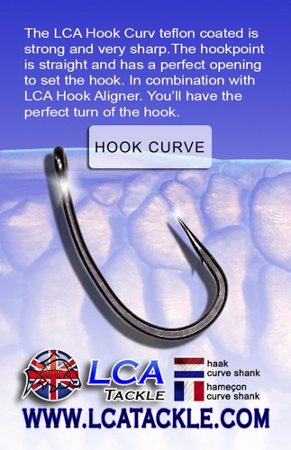 LCA TACKLE HOOK CURVE SHANK Nº 4 EL CARPODROMO
