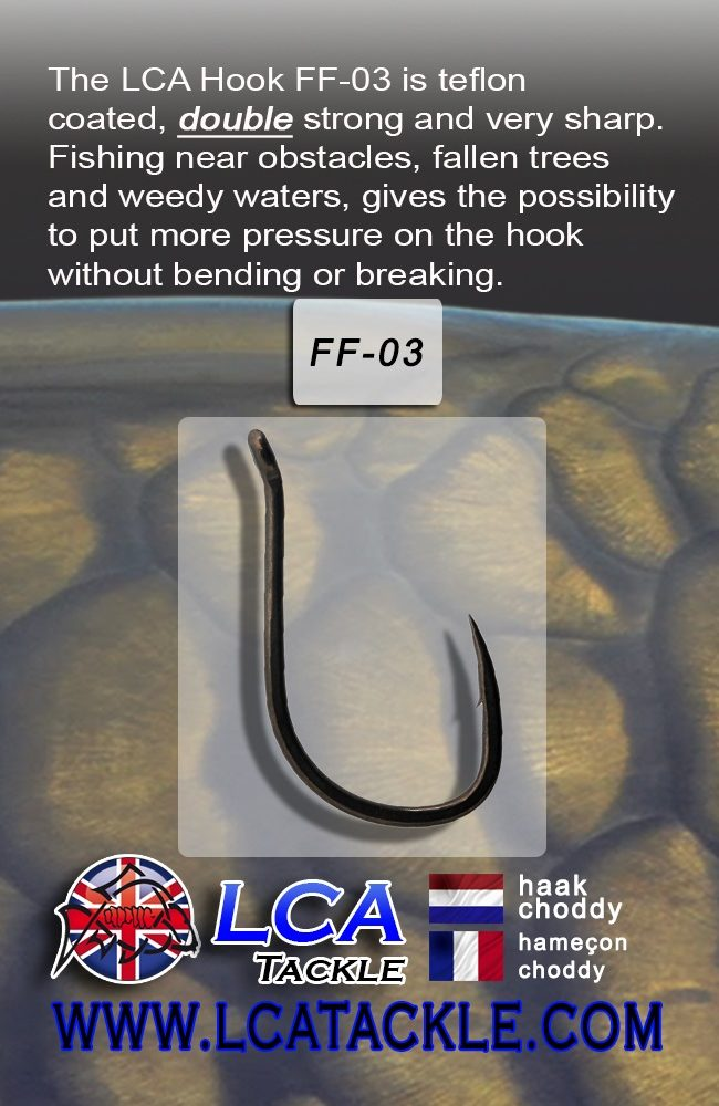 LCA TACKLE HOOK FF03 Nº 6 EL CARPODROMO