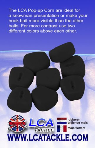 LCA TACKLE POP UP FAKE MAIZE BLACK