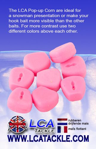 LCA TACKLE POP UP FAKE MAIZE PINK