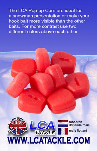 LCA TACKLE POP UP FAKE MAIZE RED
