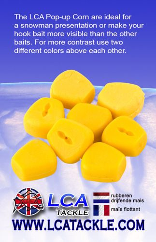 LCA TACKLE POP UP FAKE MAIZE YELLOW