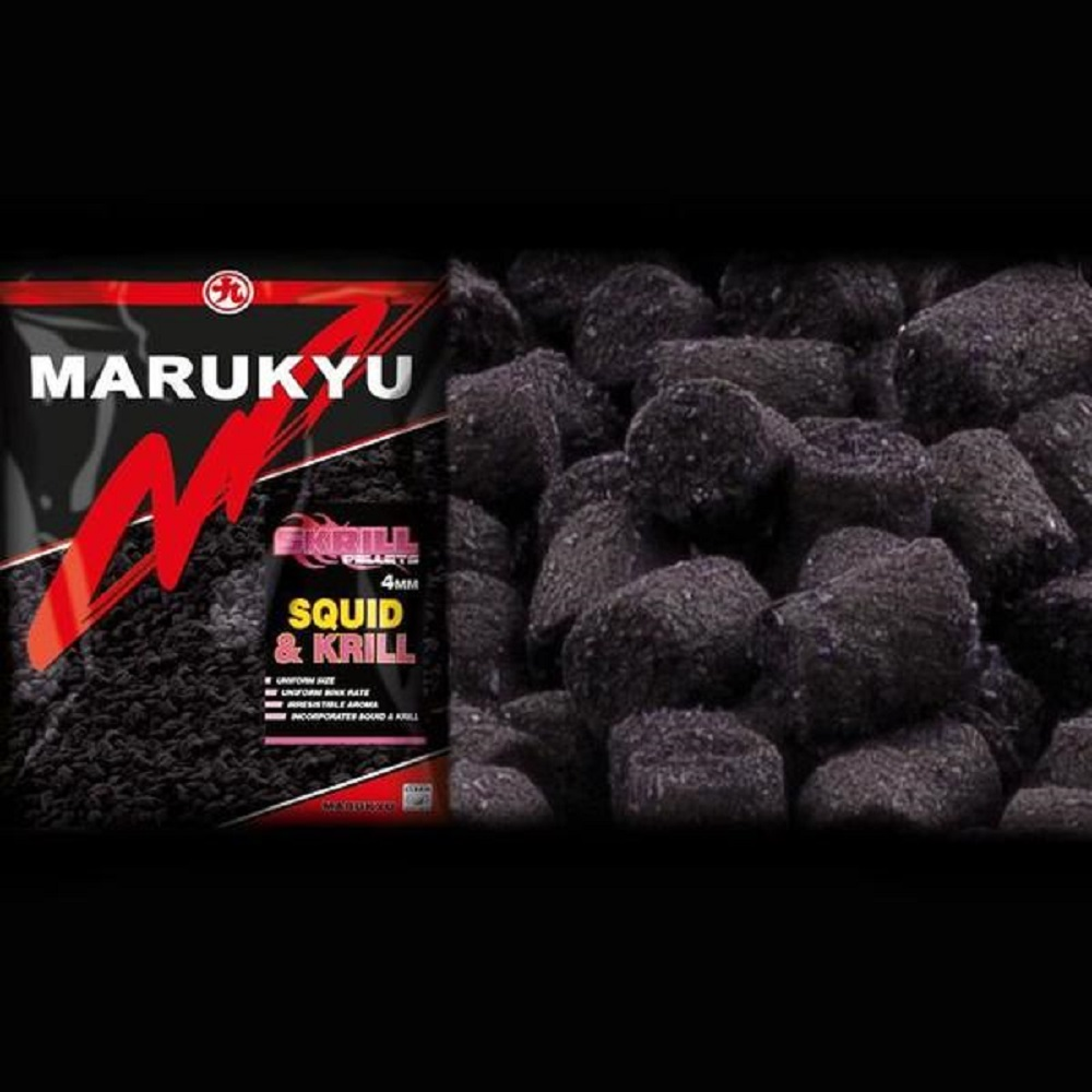 MARUKYU SKRILL PELLETS SQUID KRILL 6 MM B EL CARPODROMO