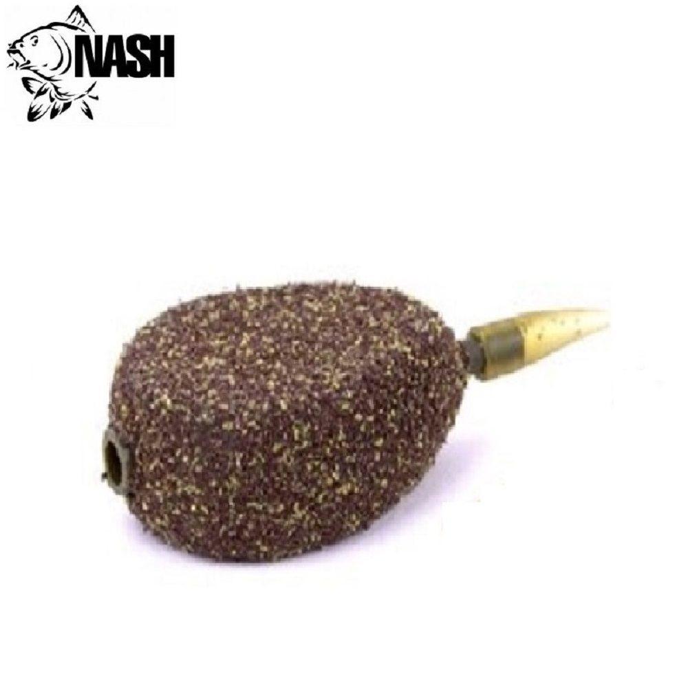 NASH IN LINE FLAT PEAR WEED SILT 4 LBRS 84 G EL CARPODROMO