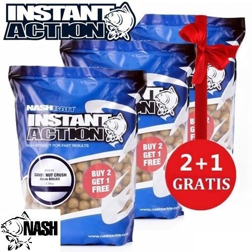 NASH INSTANT ACTION CANDY NUT CRUSH 3X2 20 MM EL CARPODROMO
