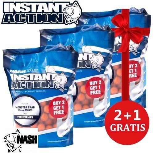 NASH INSTANT ACTION MONSTER CRAB BOILIE 3X2 20 MM