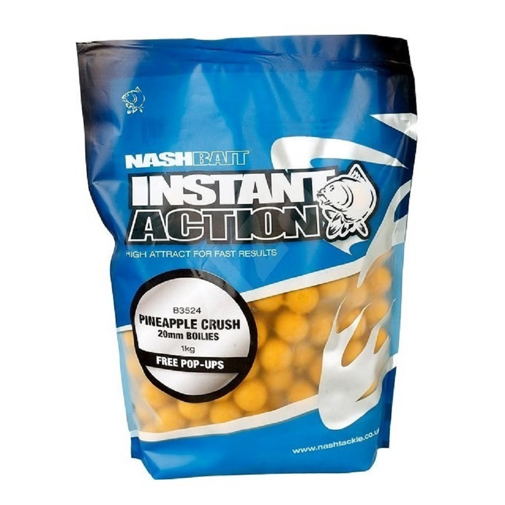 NASH INSTANT ACTION PINEAPPLE CRUSH 1 KG 20 MM EL CARPODROMO