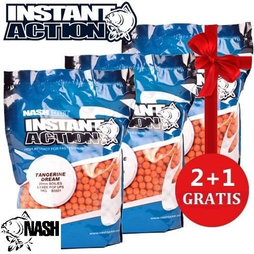 NASH INSTANT ACTION TANGERINE DREAM BOILIE 3X2 20 MM