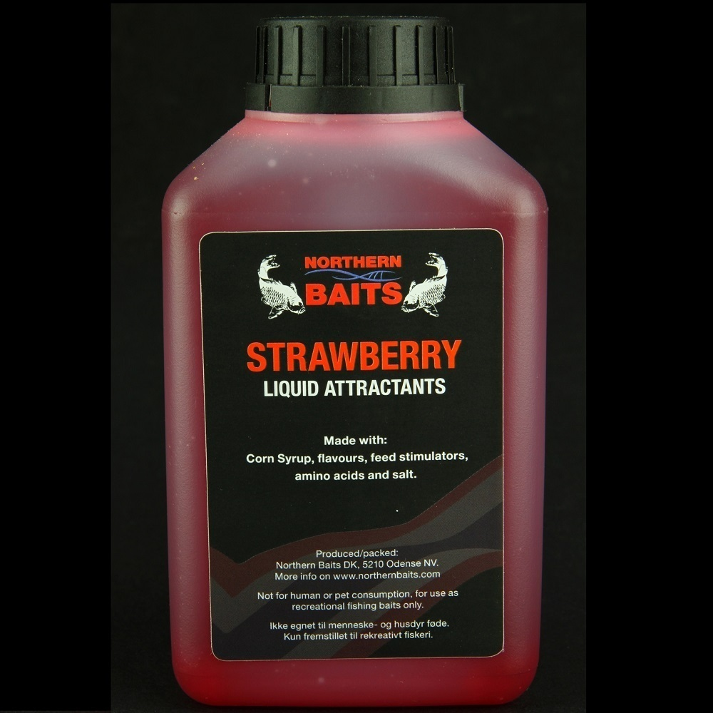 NORTHEN BAITS LIQUID STRAWBERRY 500 ML EL CARPODROMO