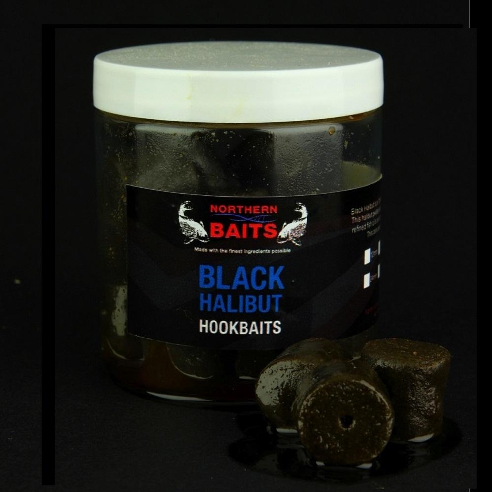 NORTHERN BAITS BLACK HALIBUT HOOKBAITS 20 MM EL CARPODROMO
