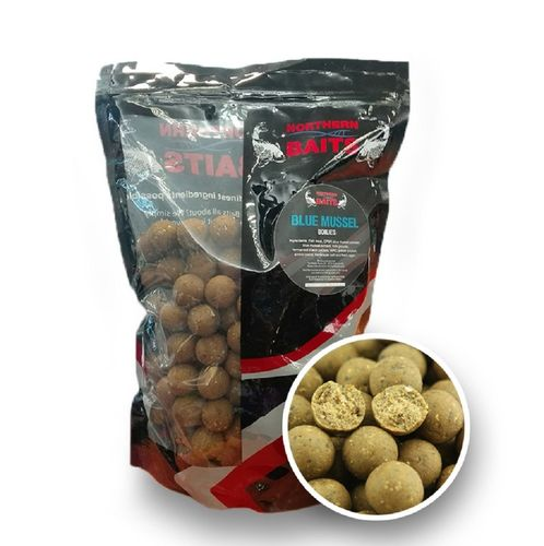 NORTHERN BAITS BLUE MUSSEL BOILIES 16 mm