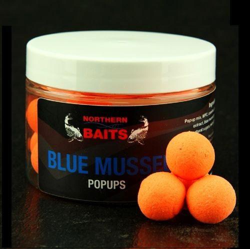 NORTHERN BAITS BLUE MUSSEL POP UPS ORANGE 15 mm