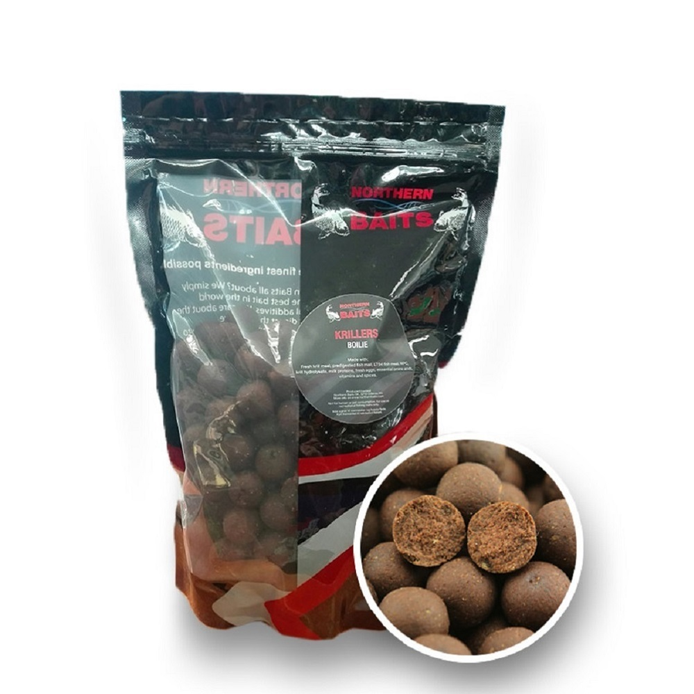 NORTHERN BAITS BOILIES KRILLERS 24 MM EL CARPODROMO