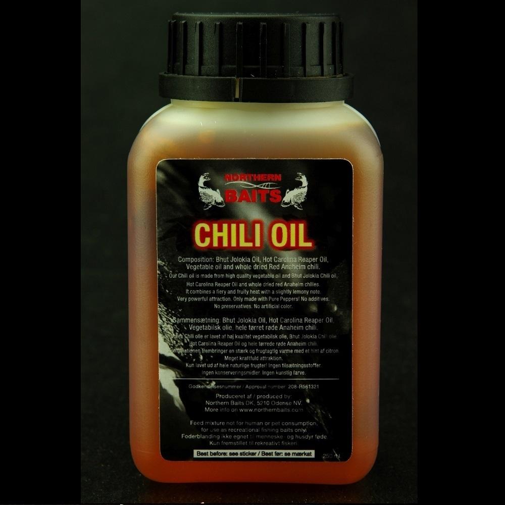 NORTHERN BAITS CHILI OIL 250 ML EL CARPODROMO