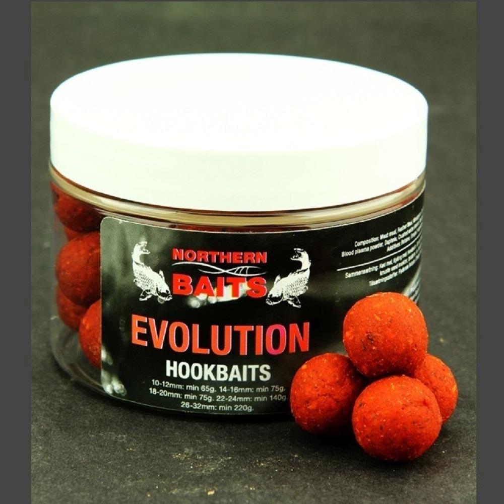 NORTHERN BAITS EVOLUTION HARD HOOKBAITS 15 MM