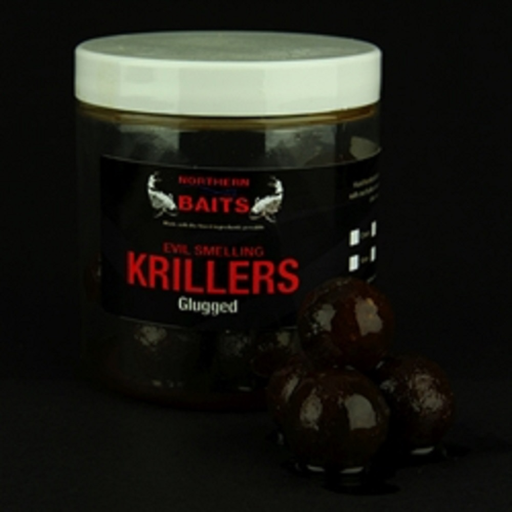 NORTHERN BAITS GLUGGED KRILLERS 24 MM EL CARPODROMO