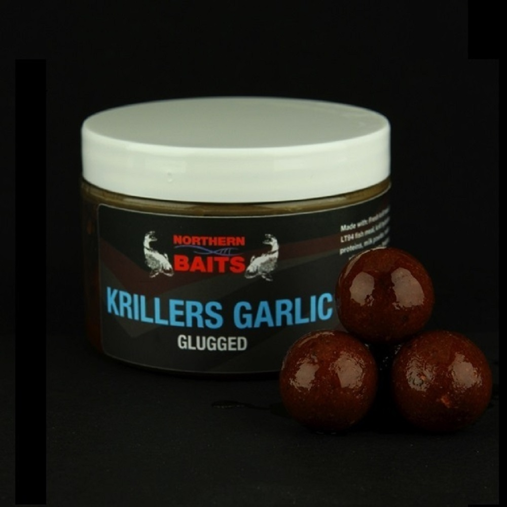 NORTHERN BAITS GLUGGED KRILLERS GARLIC 20 MM EL CARPODROMO