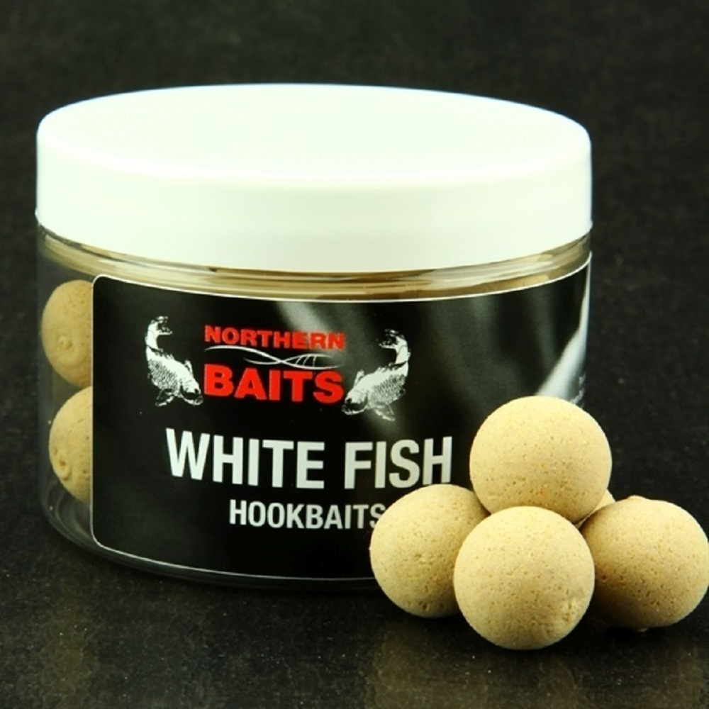 NORTHERN BAITS HARD HOOKBAITS WHITE FISH 20 MM EL CARPODROMO