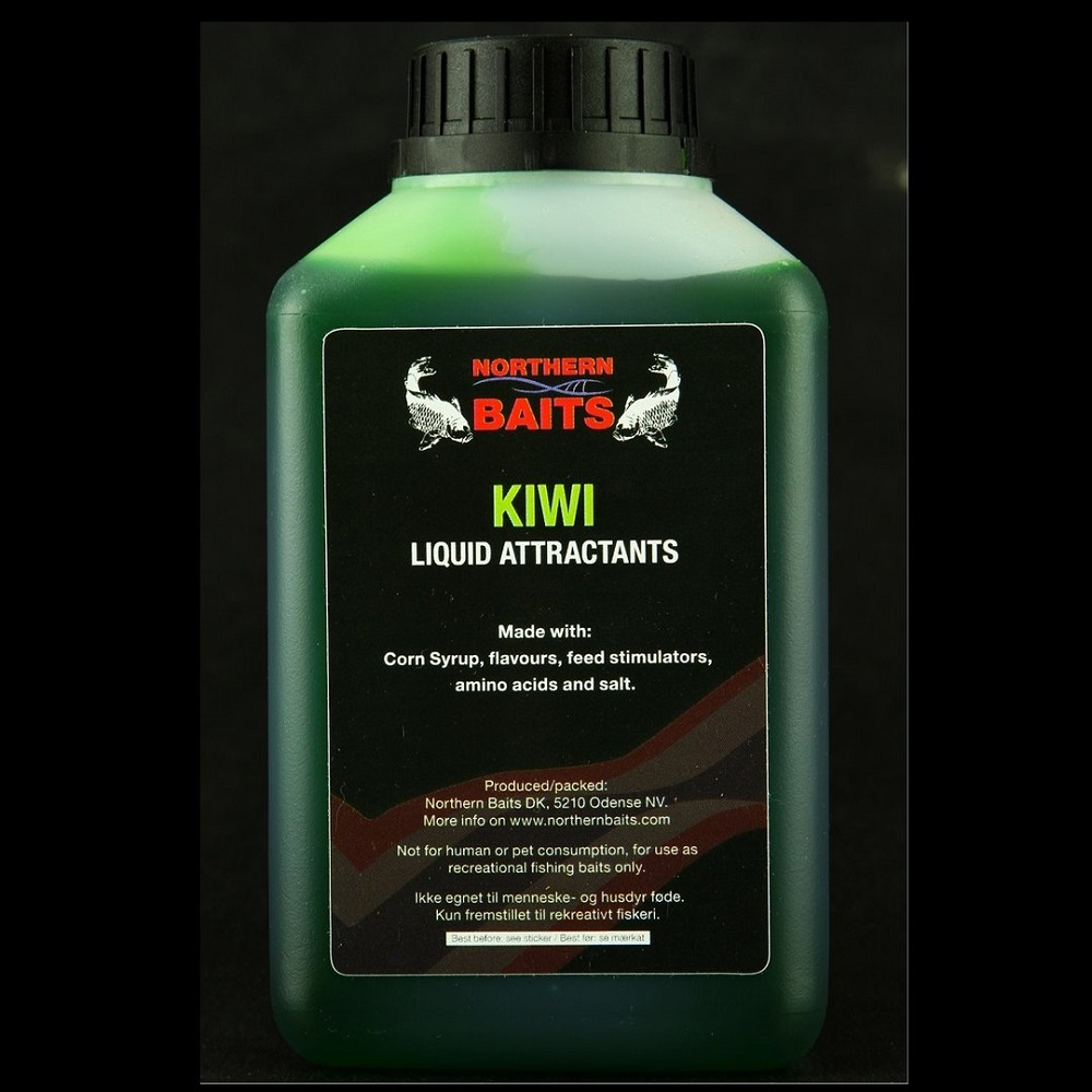 NORTHERN BAITS KIWI LIQUID 500 ML EL CARPODROMO